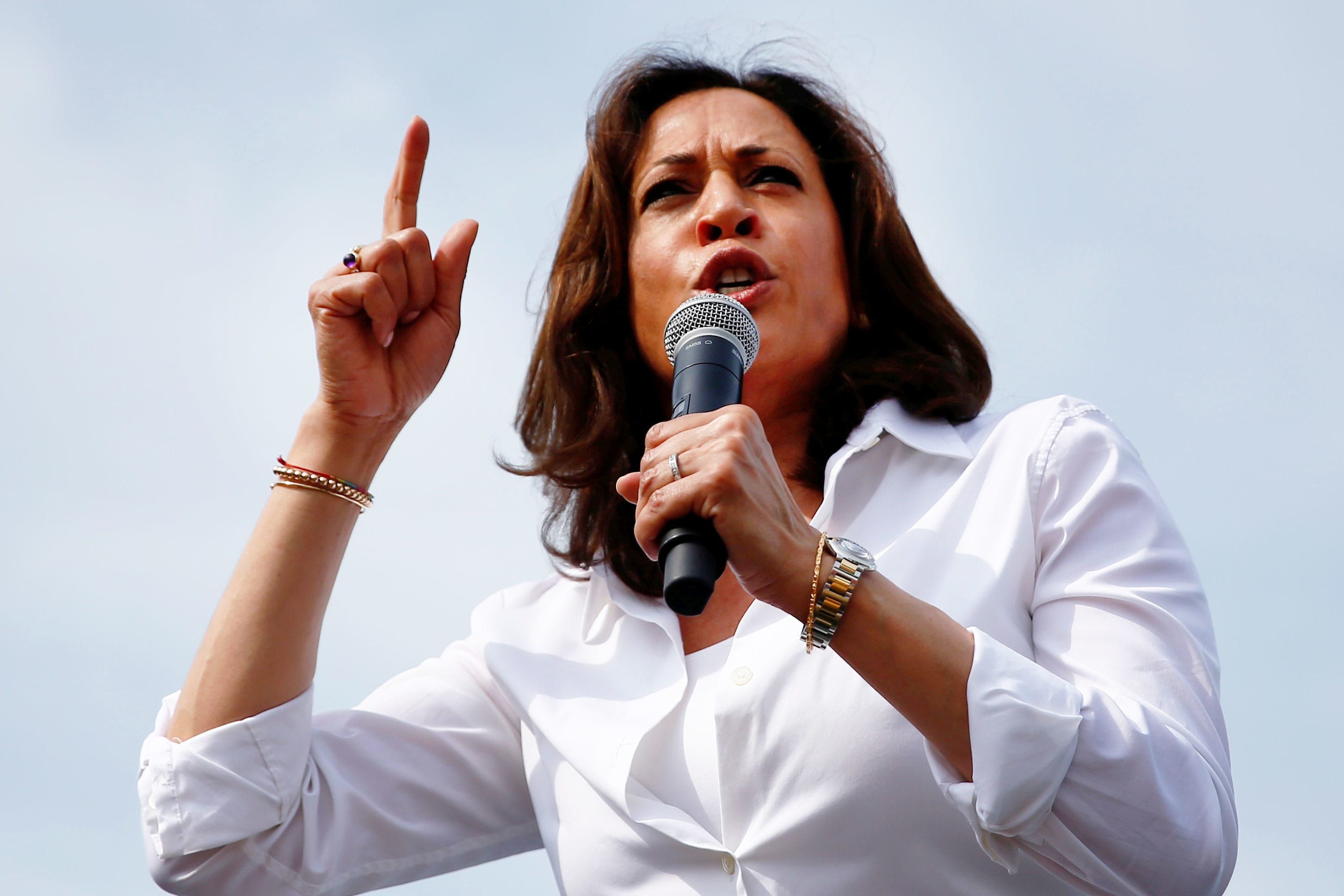 Kamala Harris asks Twitter CEO Jack Dorsey to consider suspending Trump's account