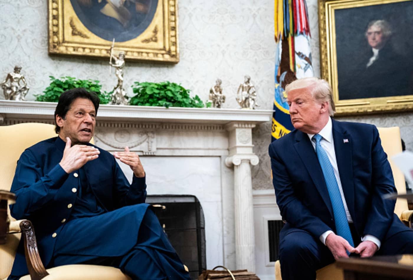 Pakistan Prime Minister Imran Khan again calls for Trump to mediate on Kashmir dispute