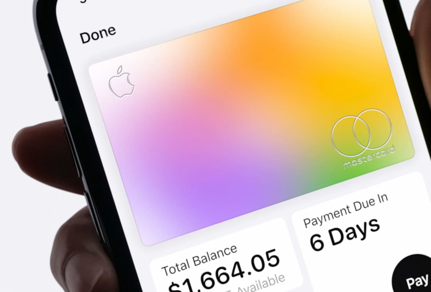 How to make Apple Card payments
