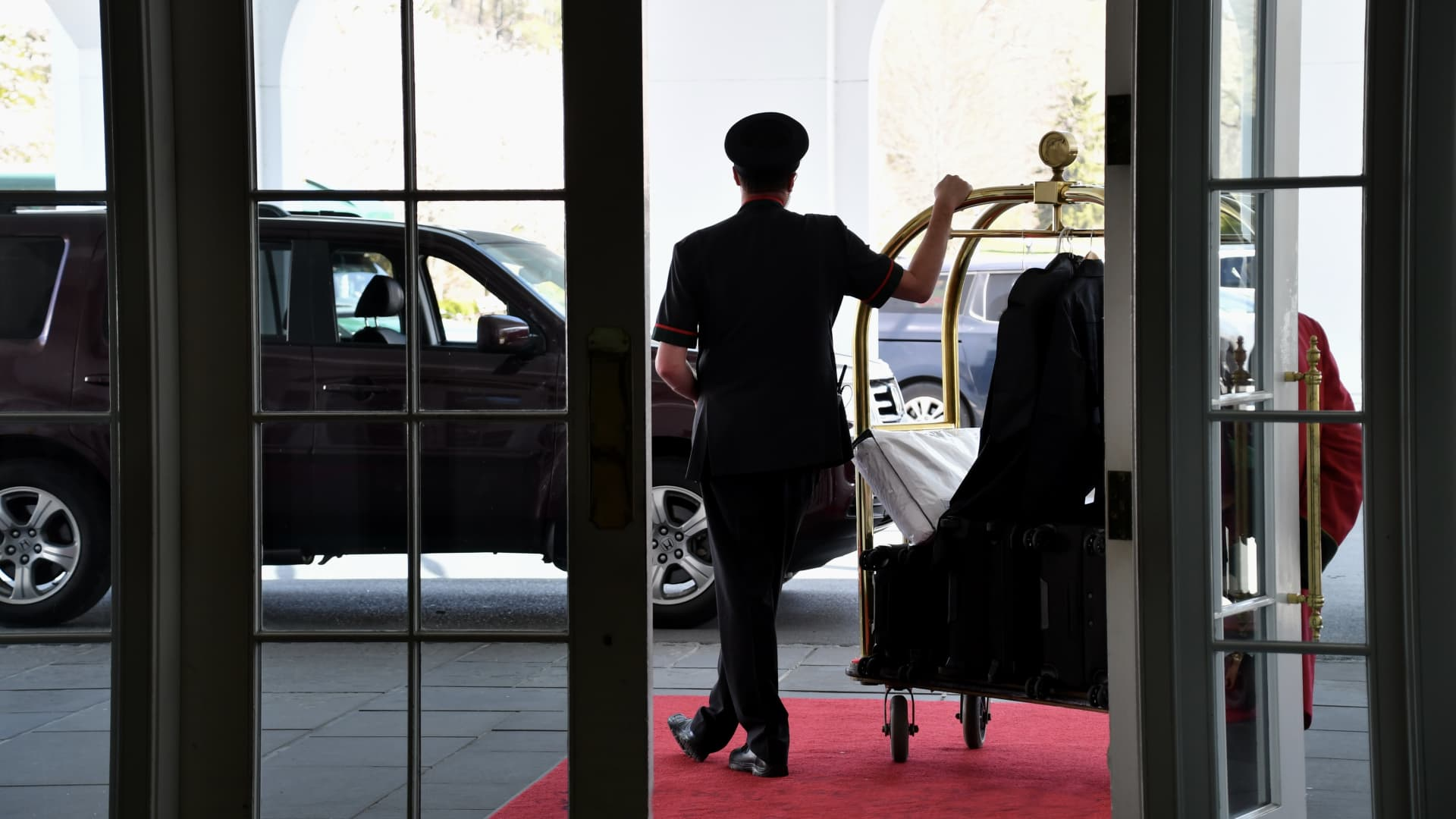 I spent over 4 years as a valet and bellman.