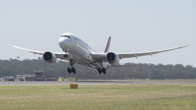 GP: Qantas Boeing 787 190822