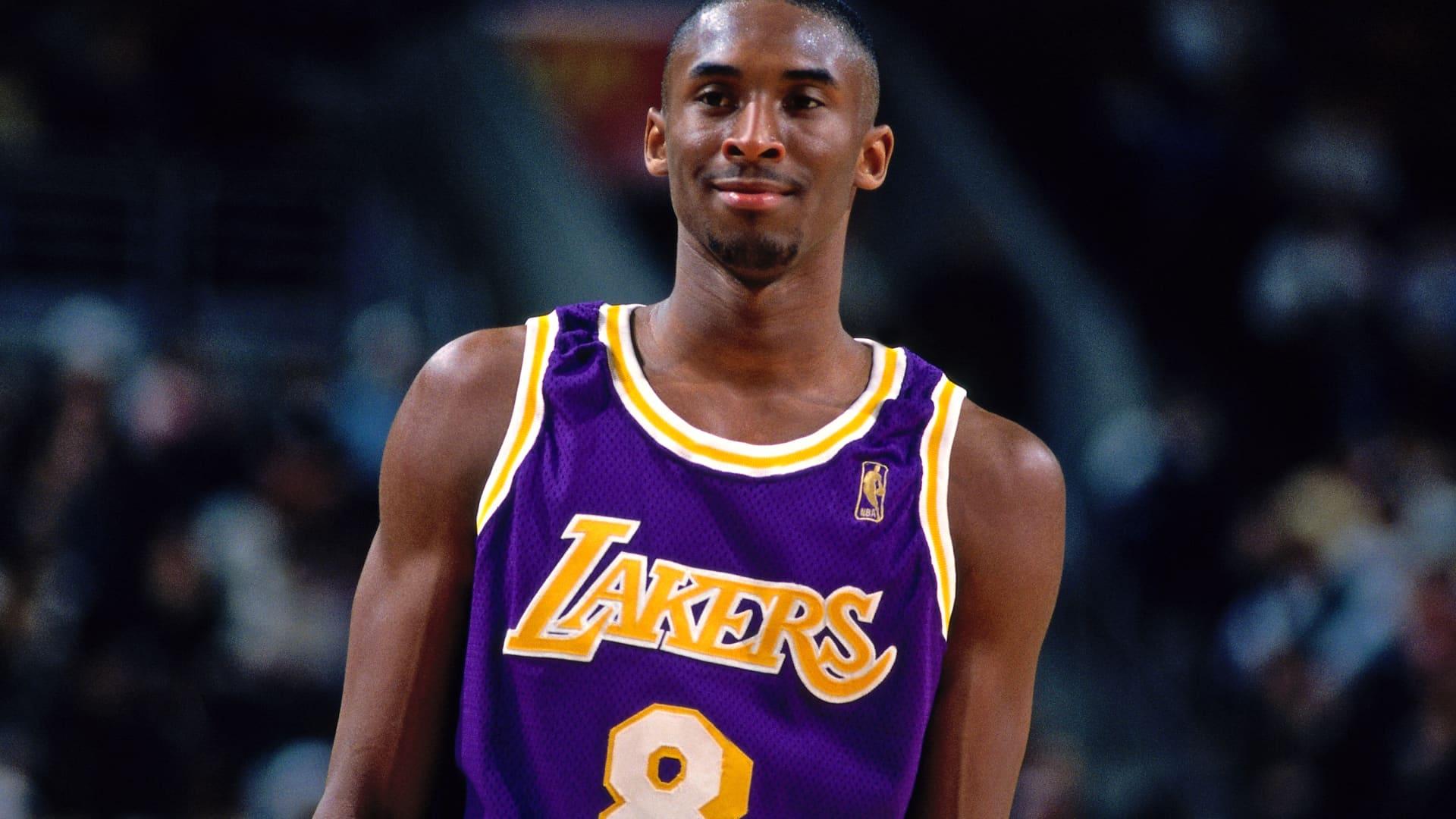 Kobe Bryant in 1996