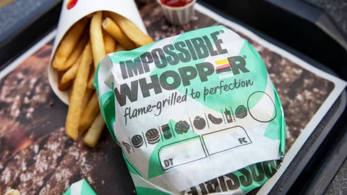 GP: Impossible Burger at Burger King 190808