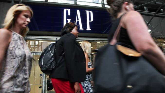 CNBC: The GAP store