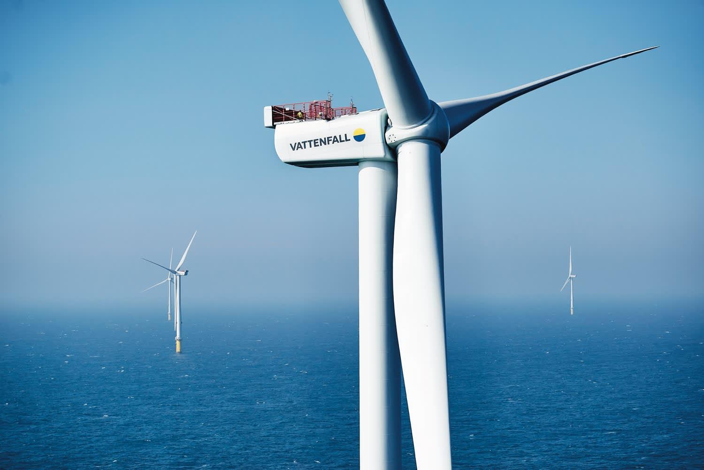 Scandinavia's biggest offshore wind farm is officially open