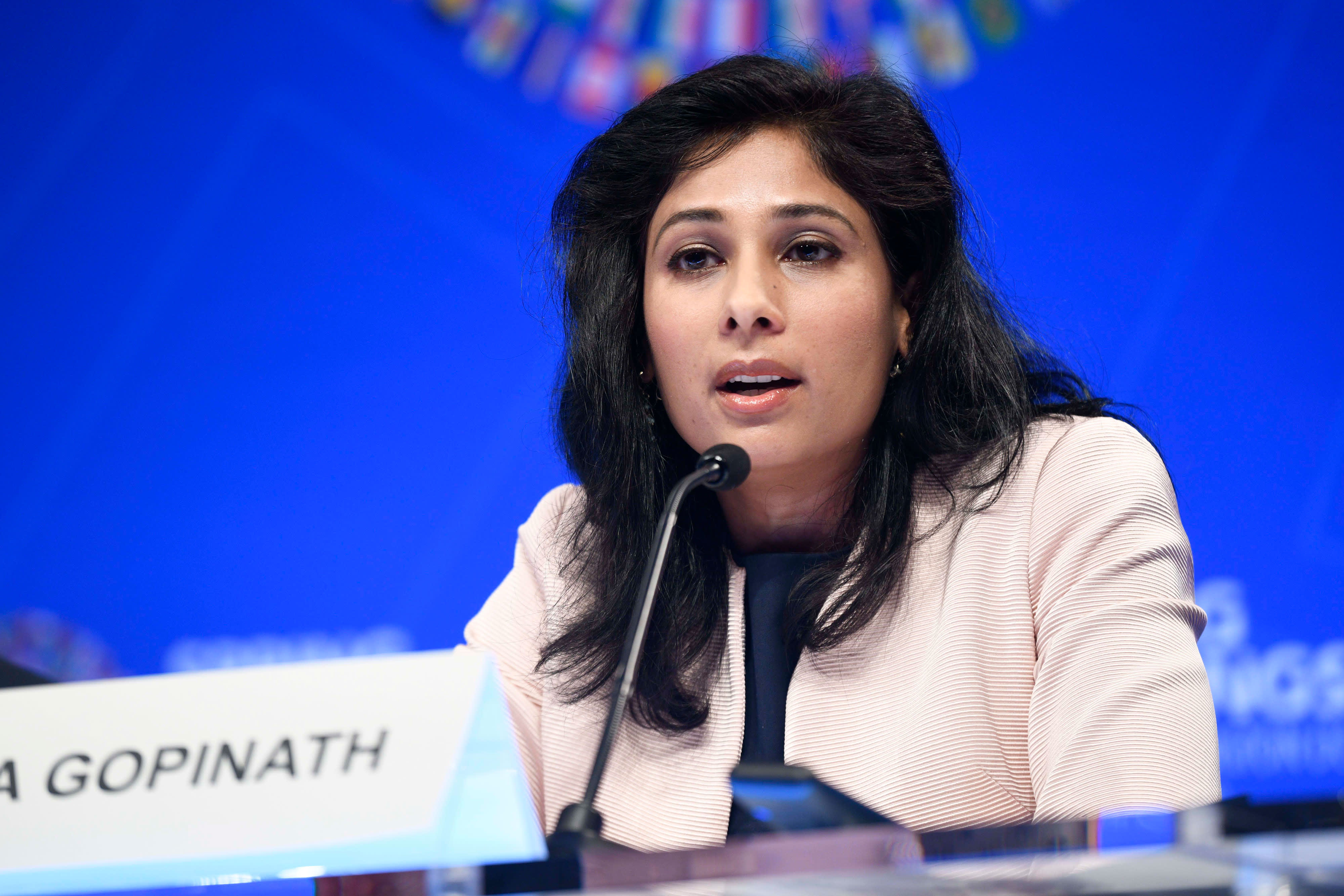 IMF chief economist Gita Gopinath: It's harder to find bright spots in  global economy