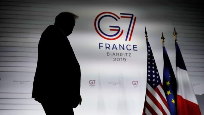 RT:唐纳德特朗普,G7,190826 2