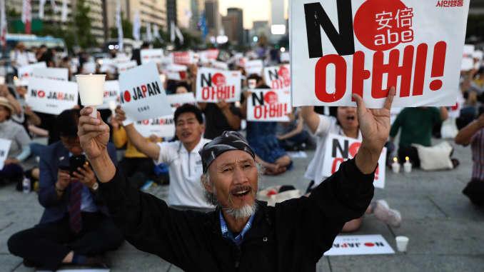 GP: South Korea Japan tensions 190824