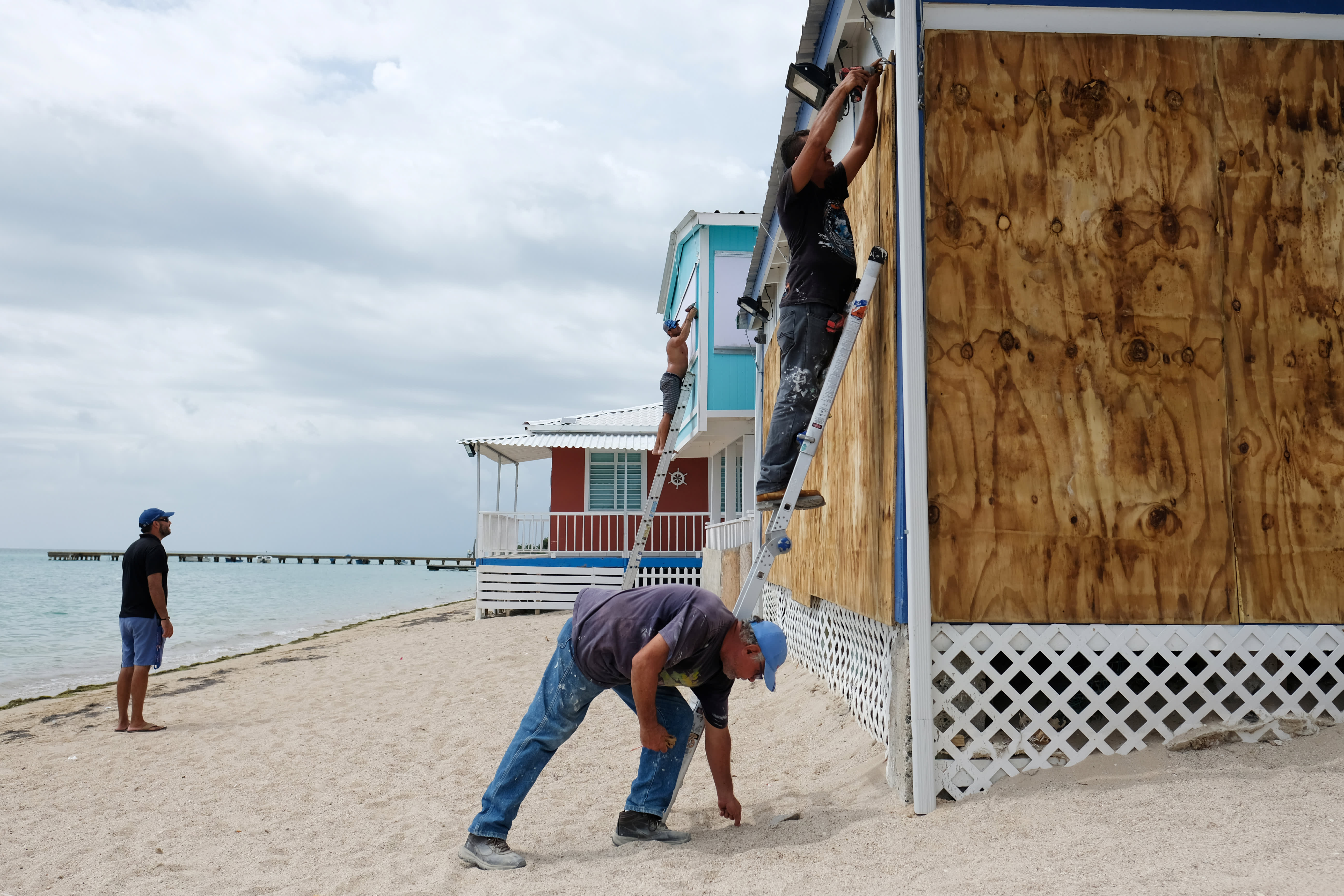 Trump unloads on 'corrupt' Puerto Rico as Tropical Storm Dorian threatens island — San Juan mayor tells him to 'calm down'