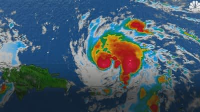 Hurricane Dorian heads for Florida over Labor Day weekend