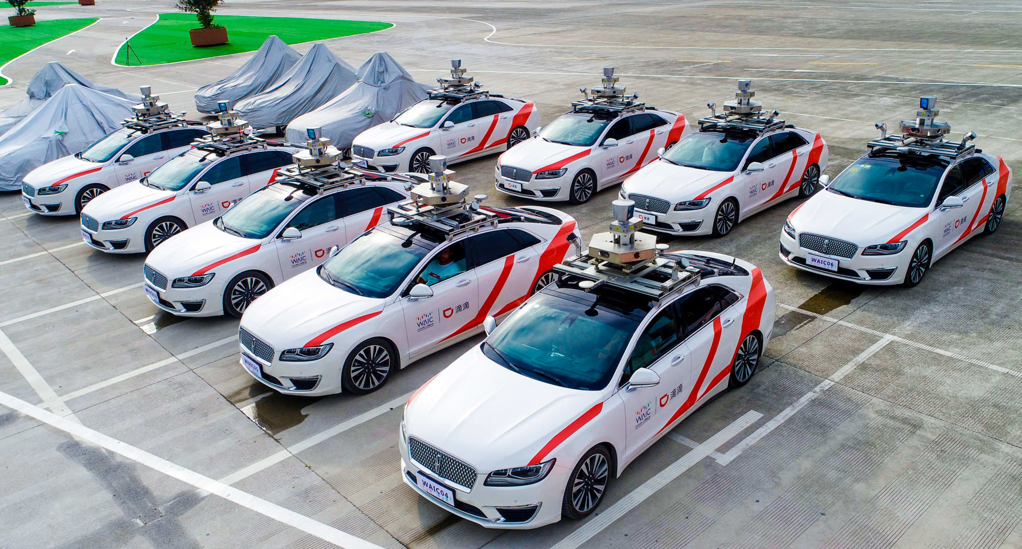 SoftBank leads $500 million investment in Chinese ride-hailing firm Didi's self-driving car unit