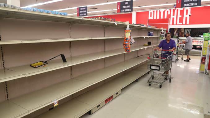 Hurricane Dorian Shifts Georgia And Carolinas In Path As