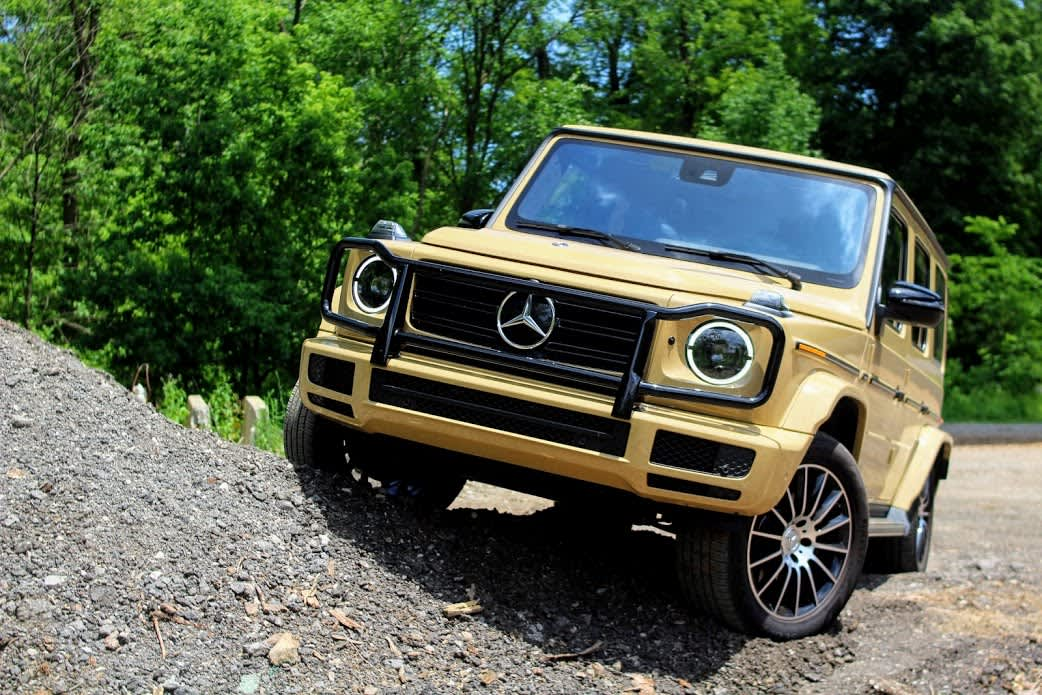Review: The 2019 Mercedes G550 SUV redefines the luxury, off-road experience