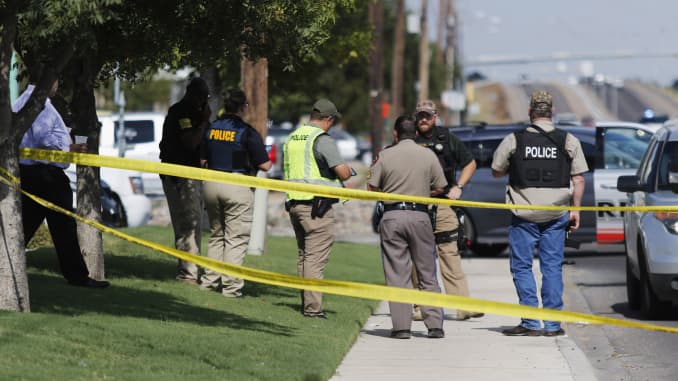 Death toll rises to 7 in Odessa, Texas shooting rampage