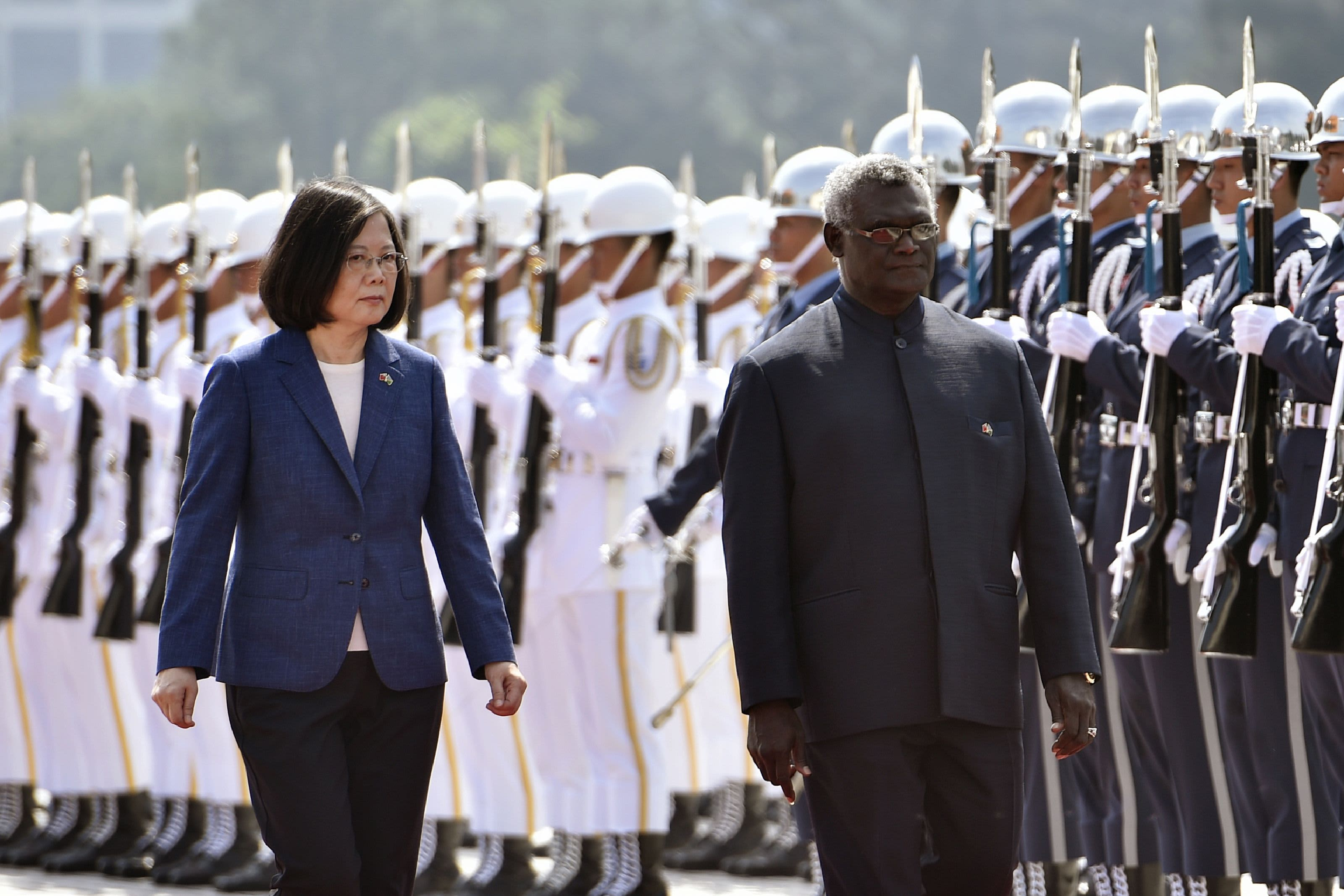 Solomon Islands eyes shift in diplomatic ties to China from Taiwan