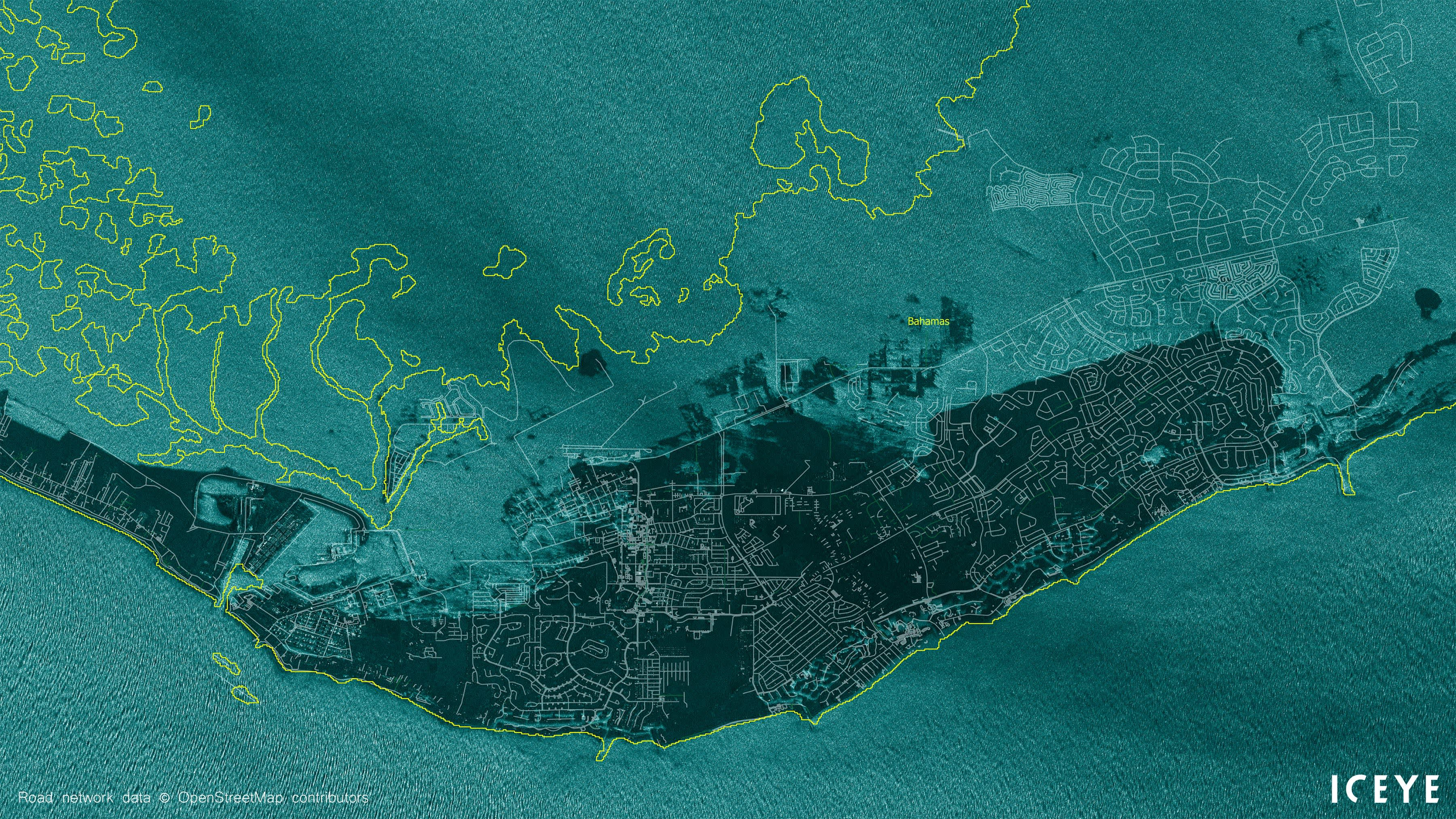Hurricane Dorian Satellite Photos Show Bahamas Underwater