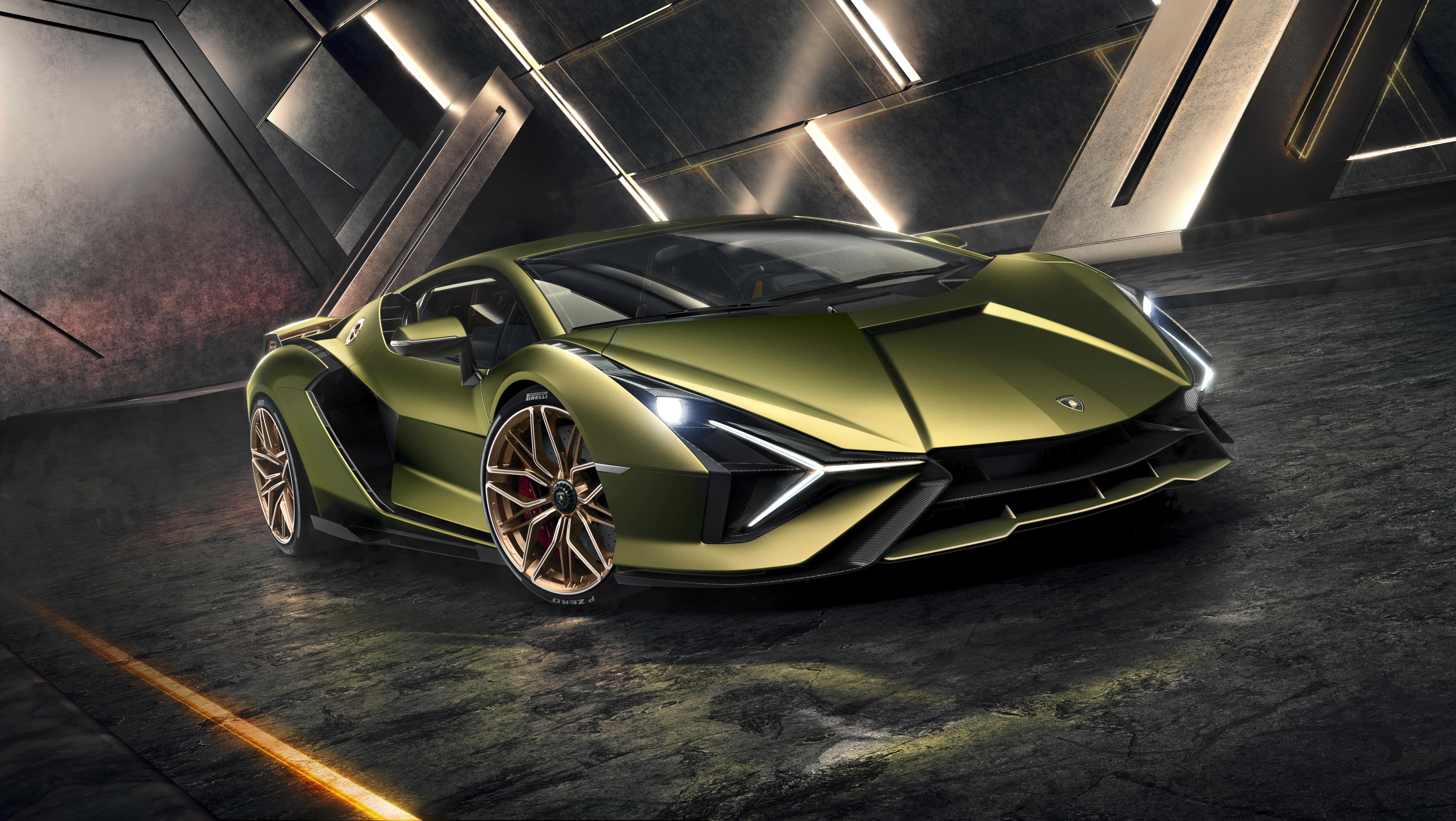 Lamborghini reveals its first hybrid supercar The Sian