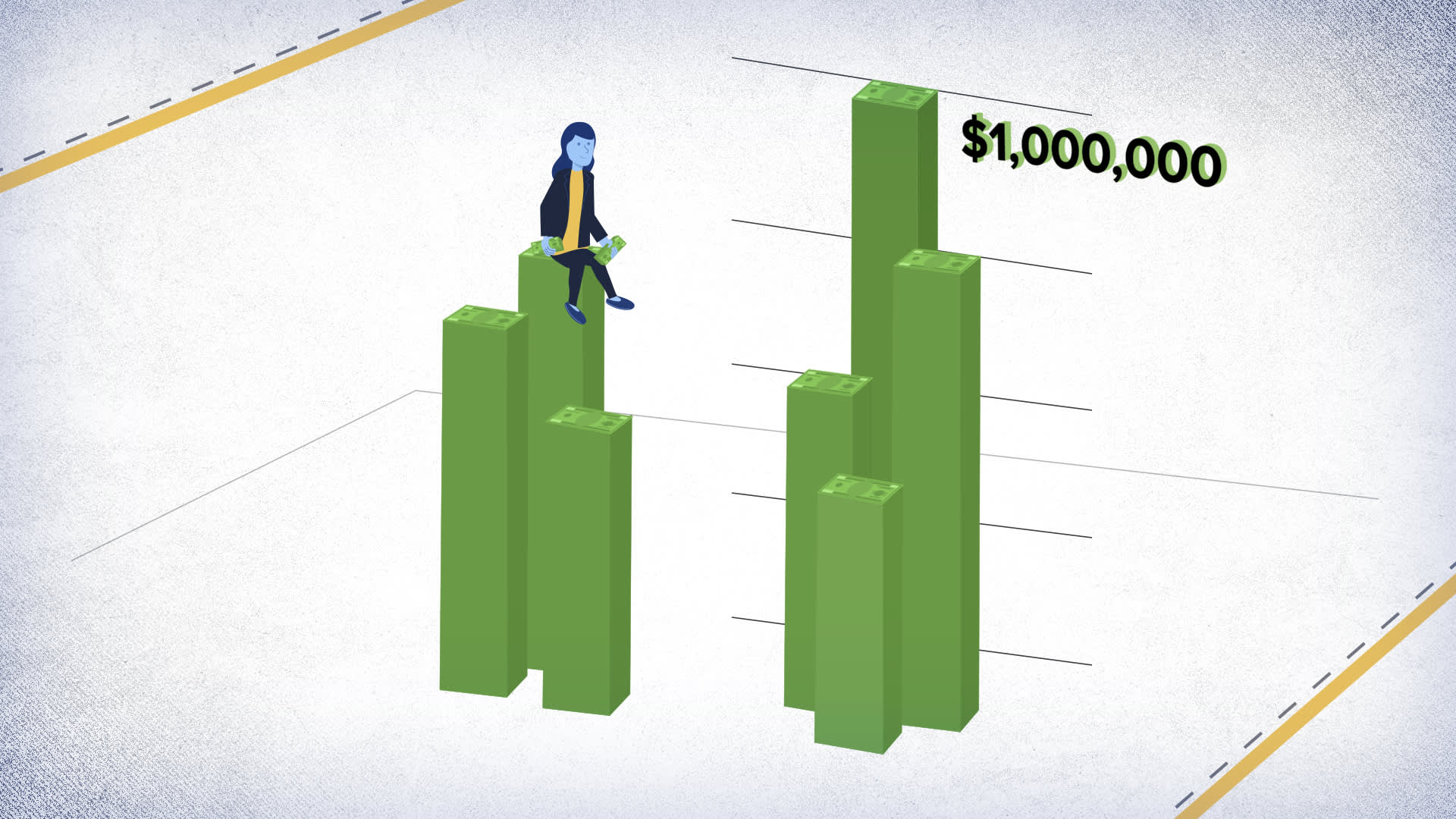 How to save $1 million on a $100,000 salary, broken down by age