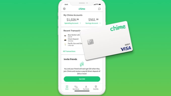 Branchless bank Chime adds another million customers this summer