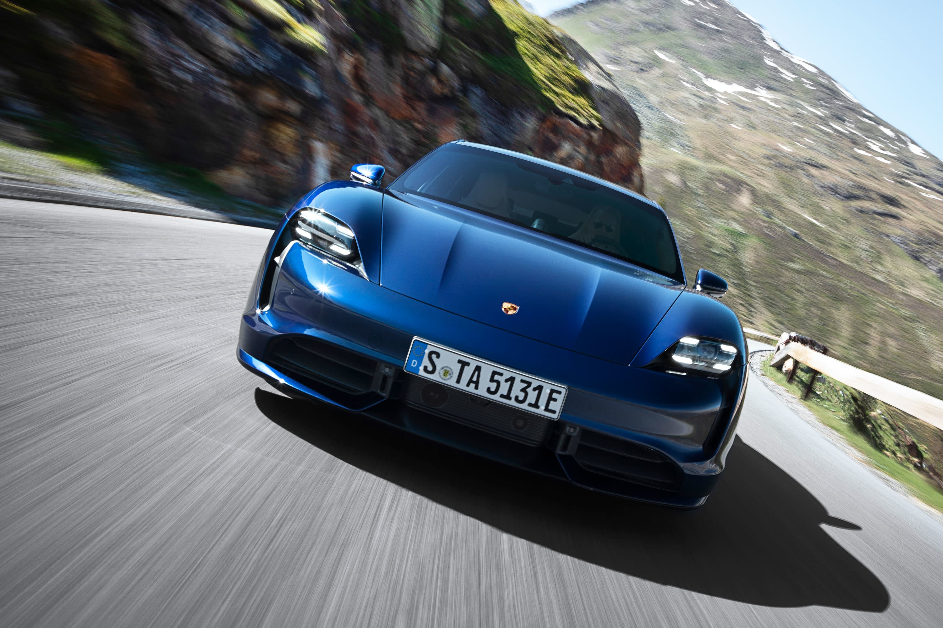 Porsche attracting Tesla owners with all-electric Taycan sports car