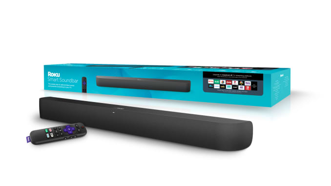 Roku Smart Soundbar doubles as a Roku player