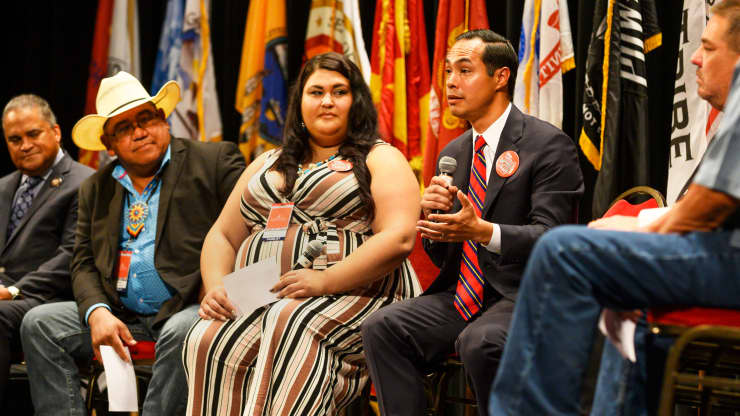 GP: Julian Castro at Native American Presidential Forum 190820