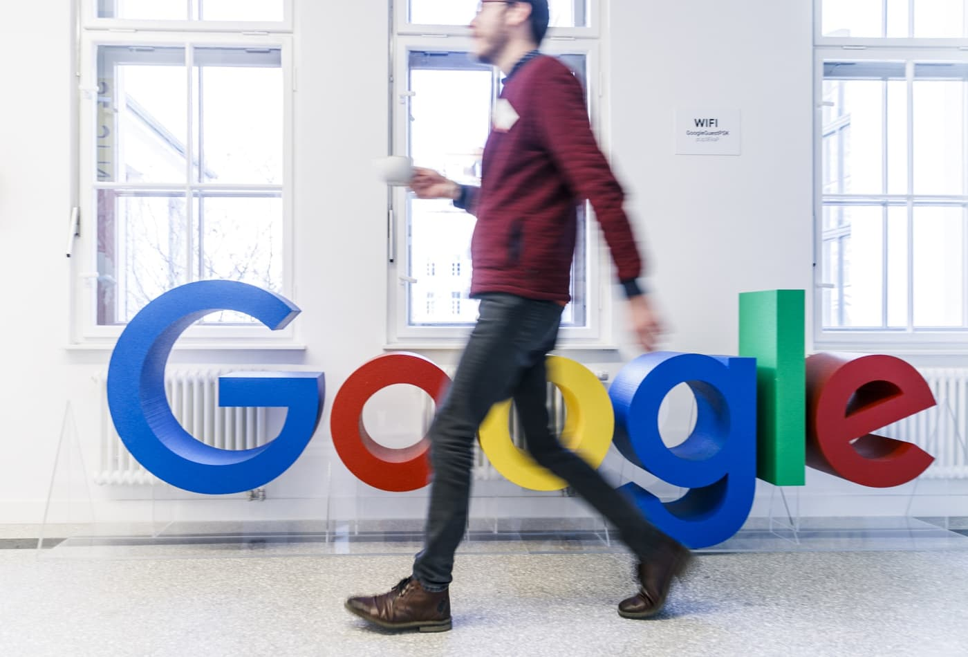 Why Google added little logos next to search results this week