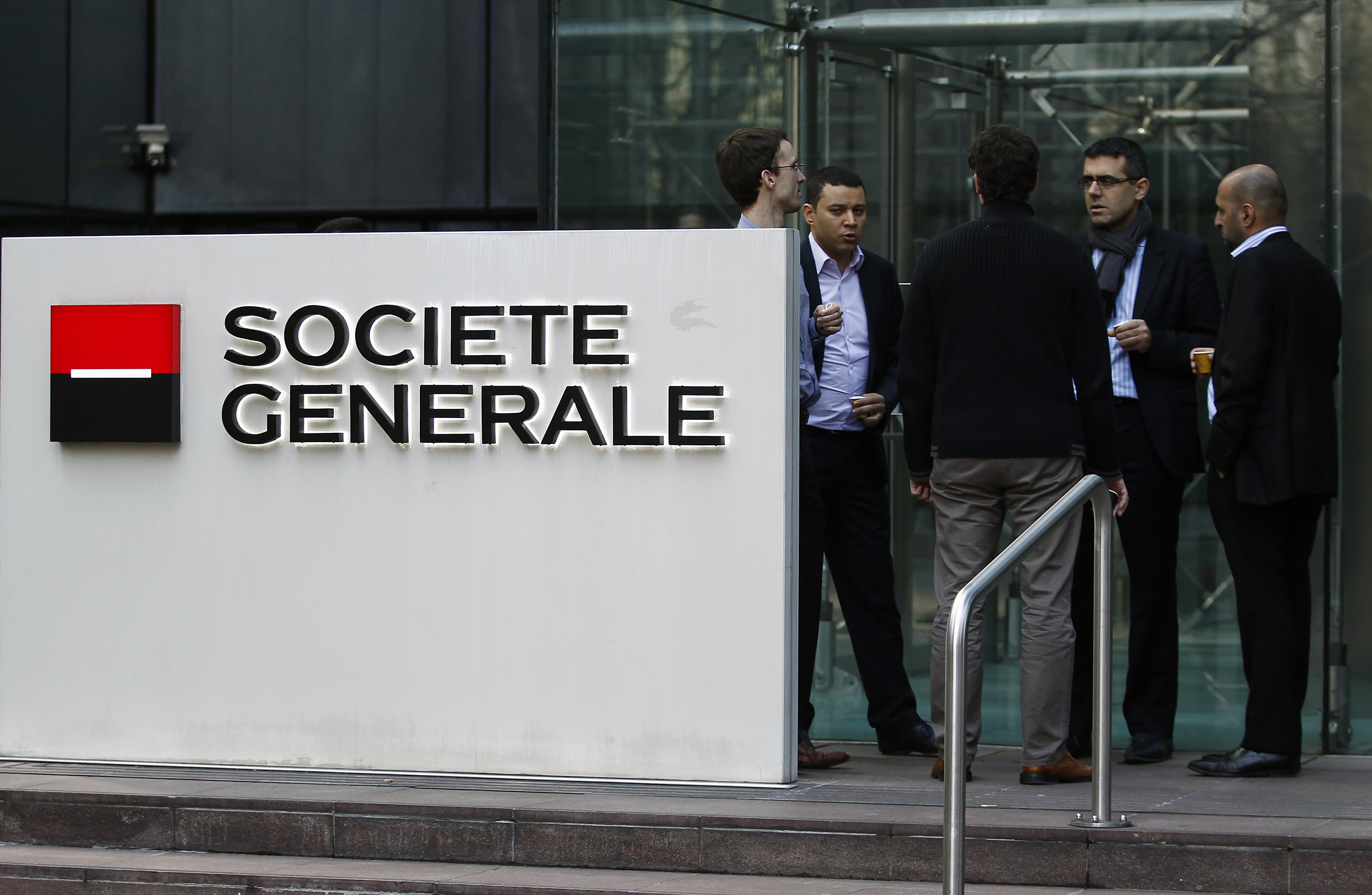 SocGen posts earnings miss but touts possible stock buybacks