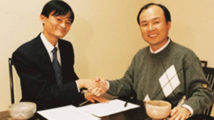 H/O: Jack Ma and Masayoshi Son
