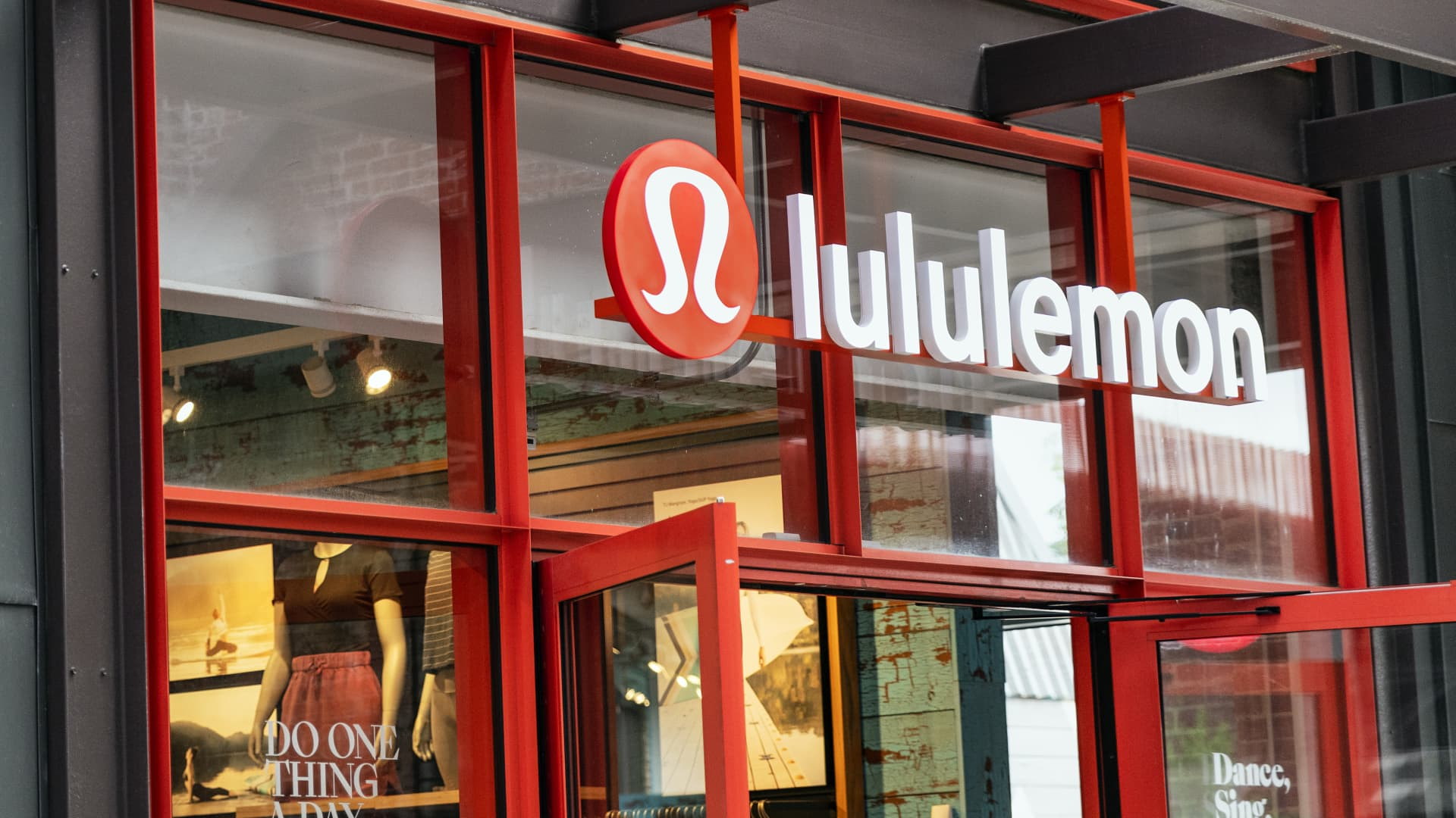 Lululemon Athletica store exterior, Ponce City Market.