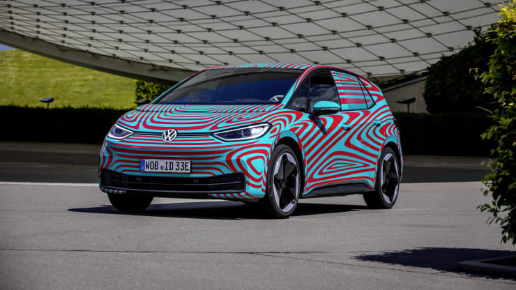 Volkswagen's new fully-electric car sells out in pre-sale