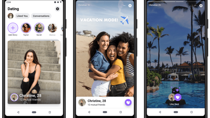 Facebook's dating feature launches in the US