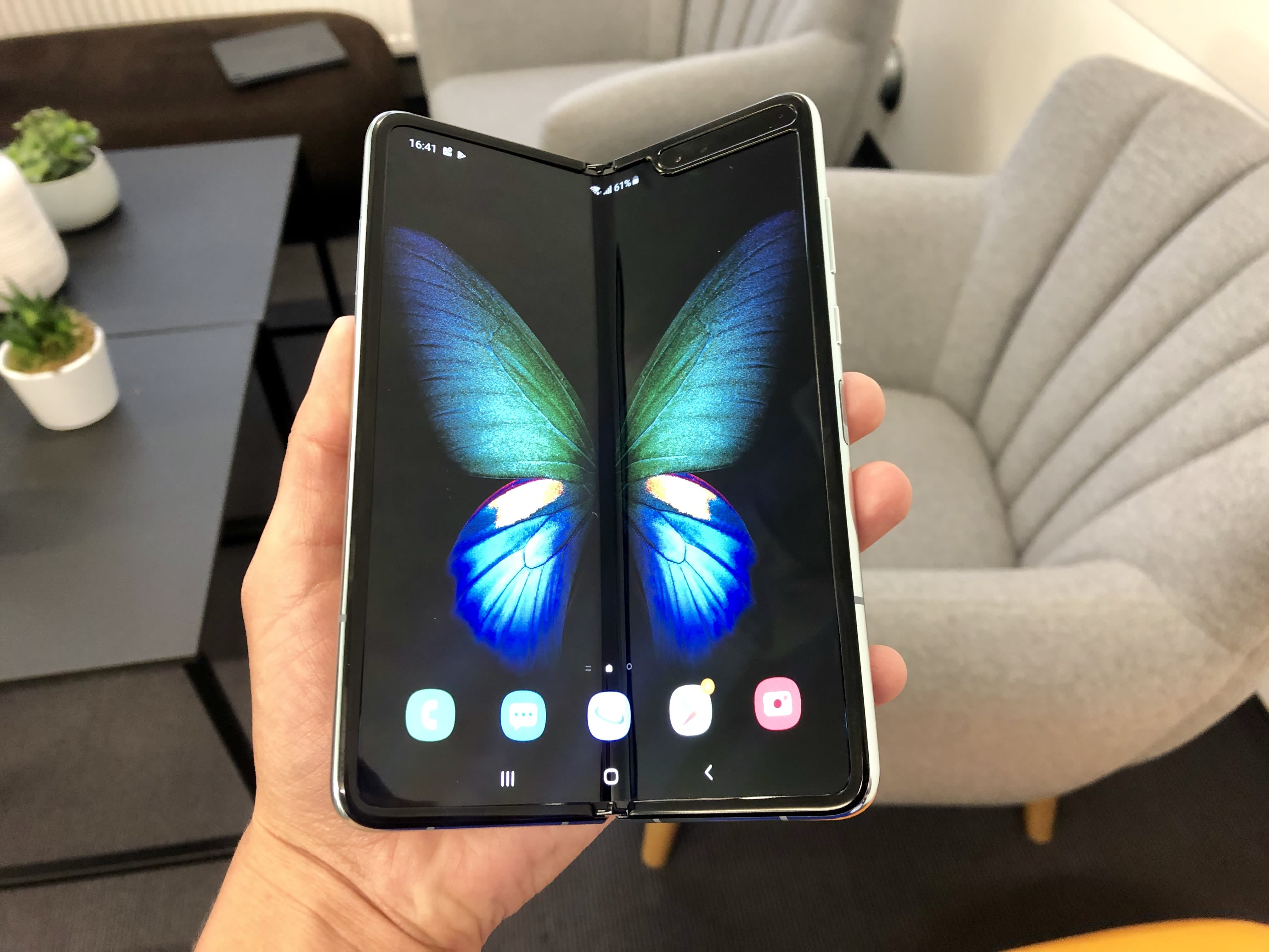 Samsung's $2,000 folding phone launches after months of delays, but it might still be too delicate and break