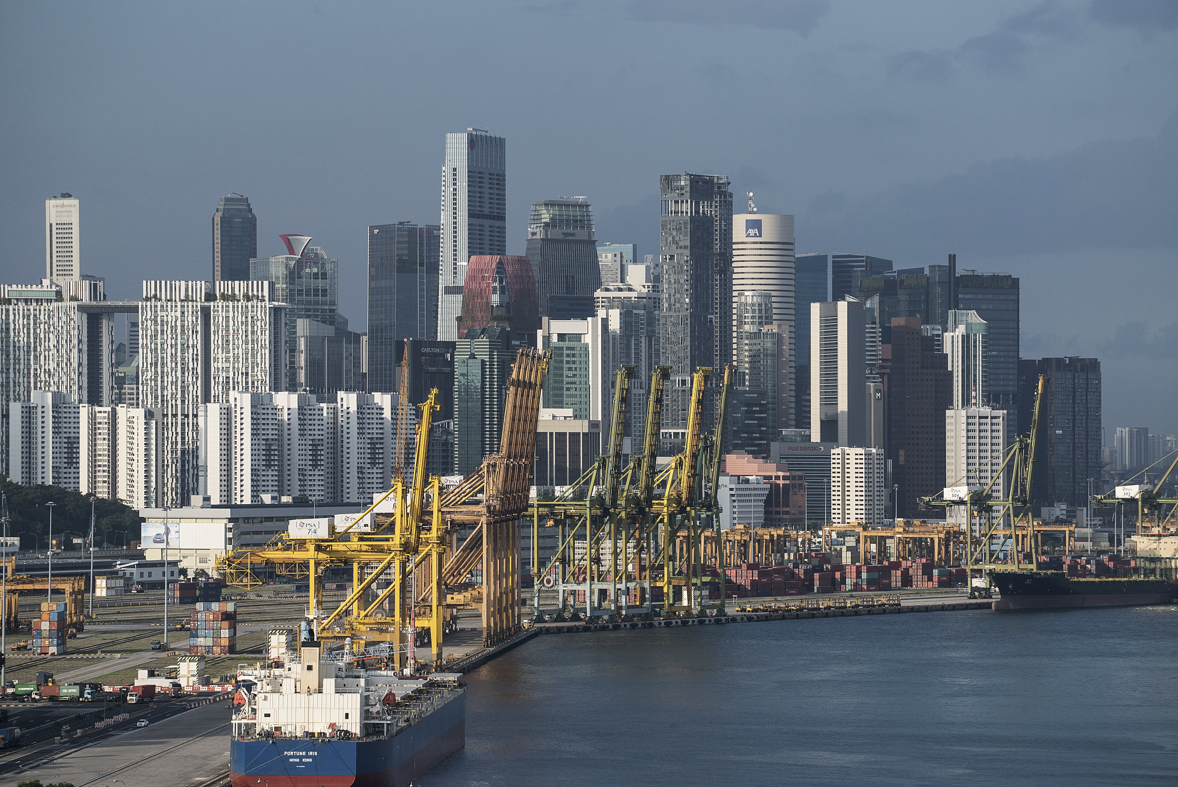 Singapore's not going into a recession 'at this point,' trade minister says