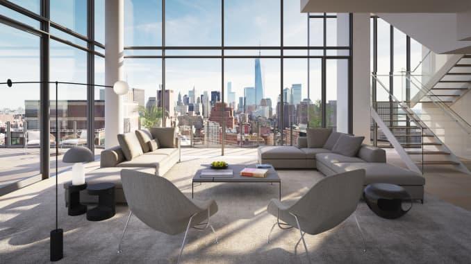 H/O: Travis Kalanick penthouse foyer