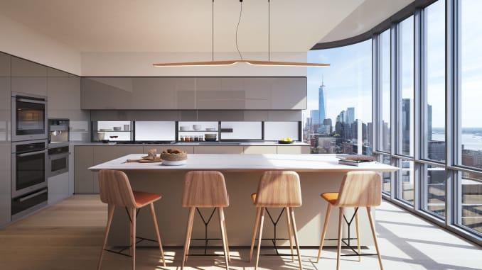 H/O: Travis Kalanick penthouse kitchen