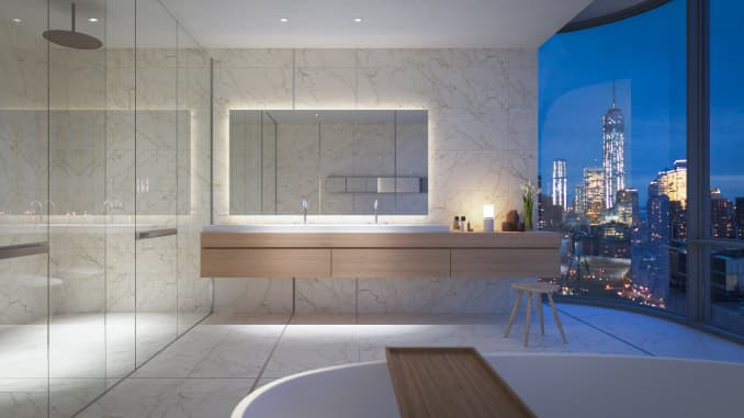 H/O: Travis Kalanick penthouse bathroom