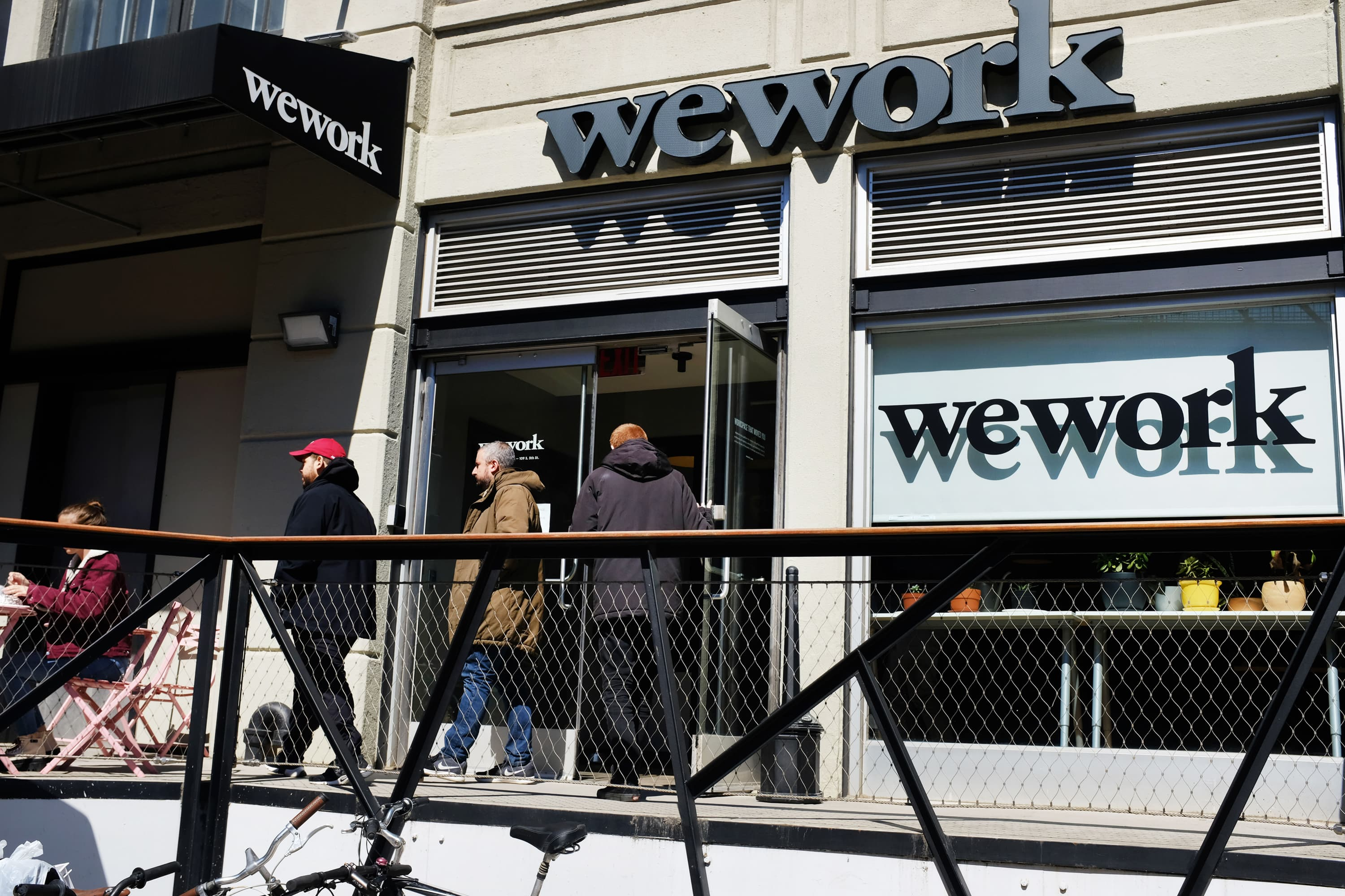 WeWork accounted for 69% of coworking space leases in third quarter, even as crisis loomed