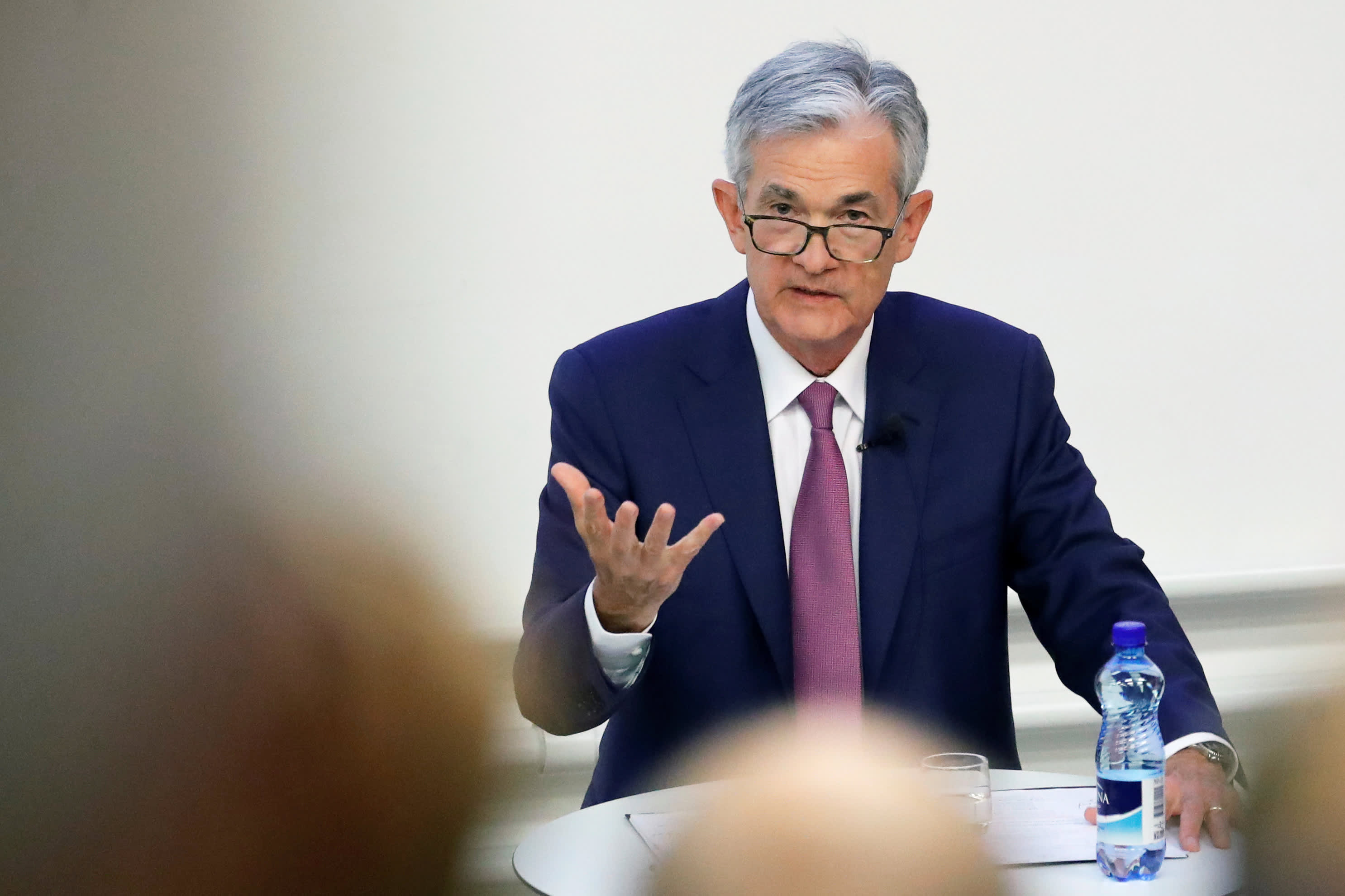 Fed chief Powell says trade policy is weighing on investment decisions