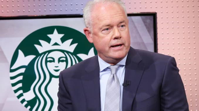 CNBC: Kevin Johnson, Starbucks 190826 4 1