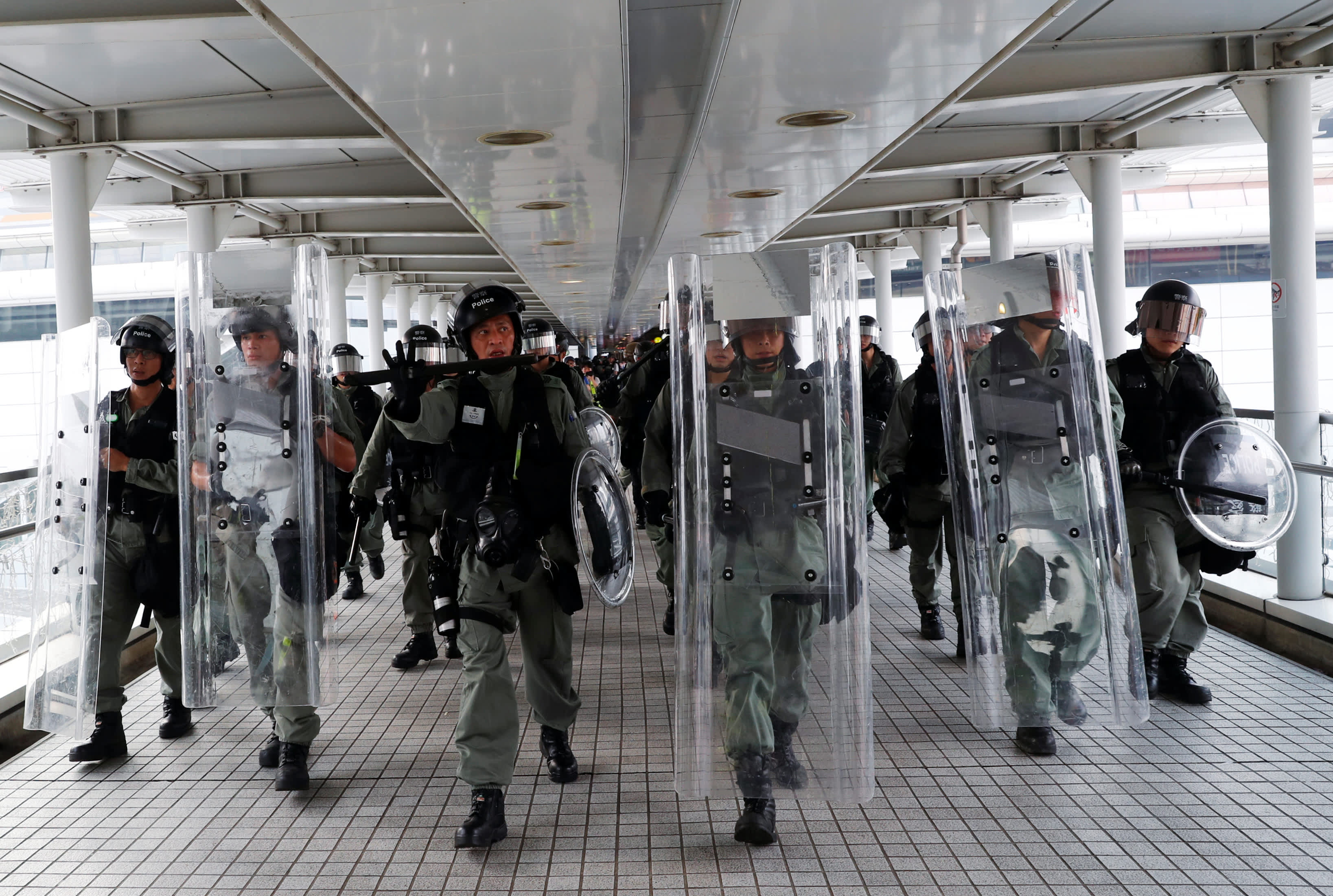 Hong Kong metro system to remain shut as city reels from night of violent protests