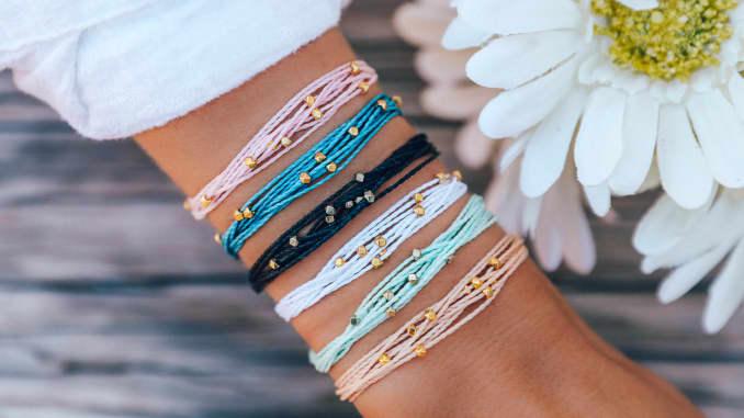 H/O: Pura Vida string bracelets