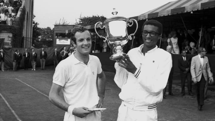 The first men's US Open champion earned $20 in 1968