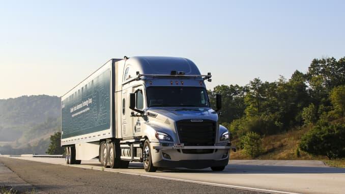 H/O - Daimler autonomous trucks Virginia