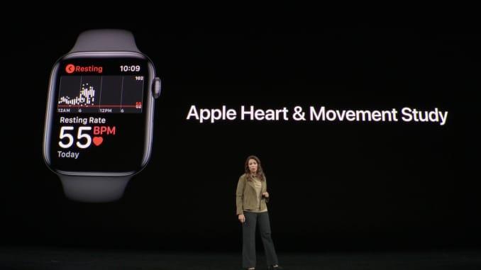 H / O : Apple Watch 건강 연구 Apple Launch Event 190910 6