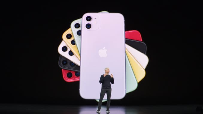 H/O: Tim Cook iPhone 11 Lauch event 190910