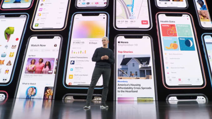 H/O: Tim Cook announces iPhone 11 Apple Launch Event 190910