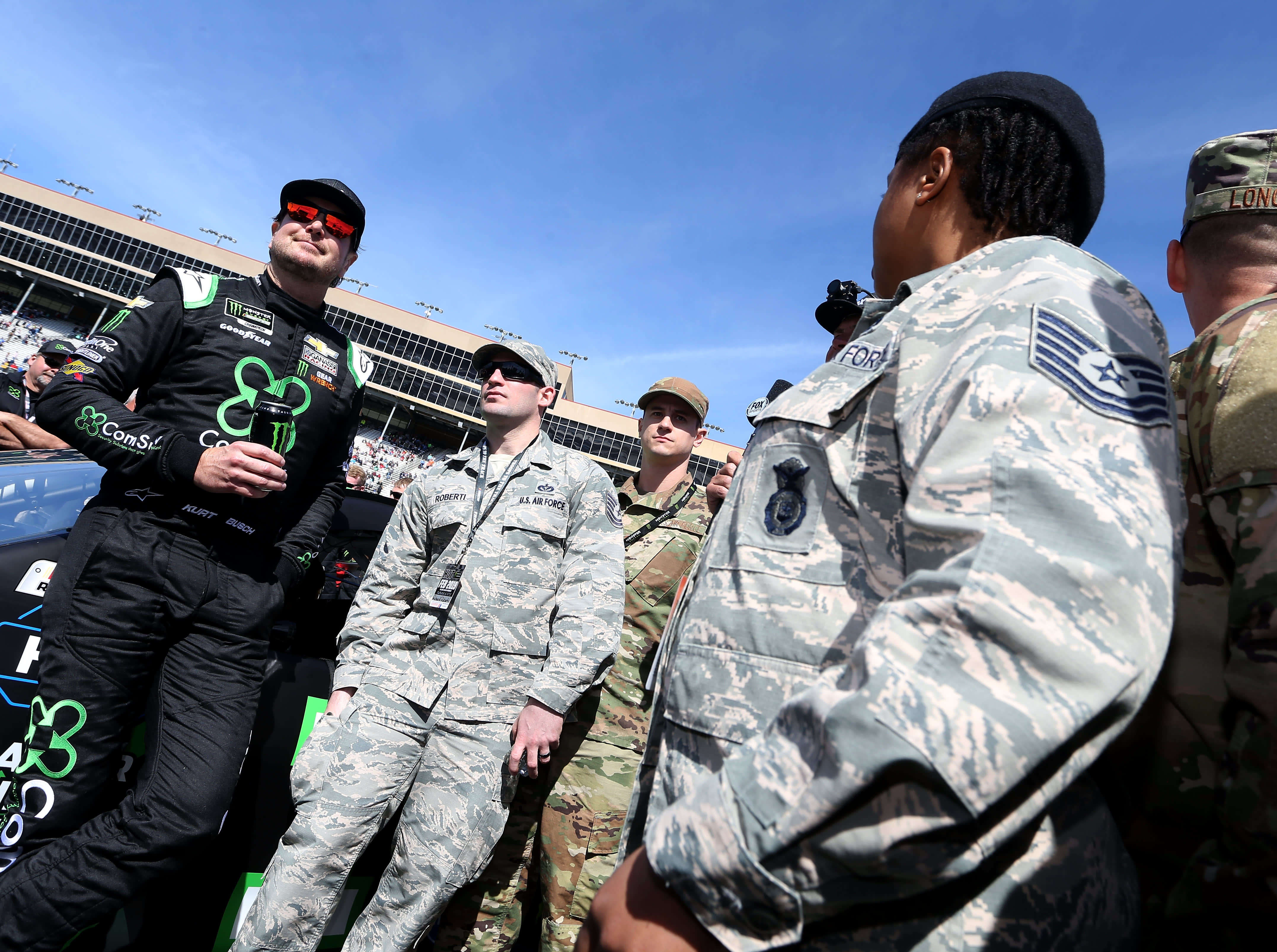 NASCAR driver Kurt Busch is investing in military veterans to help them 'reintegrate' into civilian life