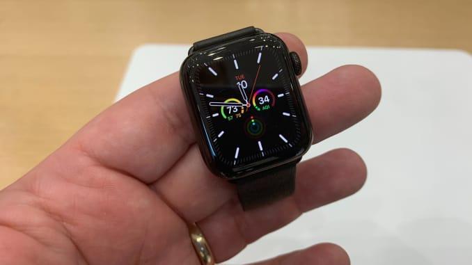 cnbc apple watch 5