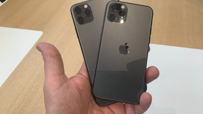 CNBC iphone 11 pro and pro max